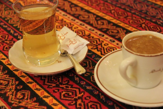 apple tea and turkish coffee