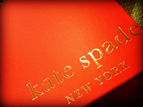 Oh Kate Spade, everything you make is wonderful.  Thank you for my new hat.