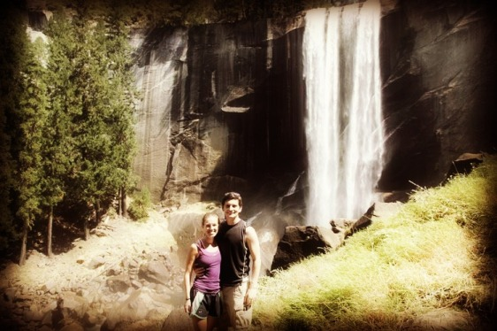 Yosemite on our pre-wedding-moon.  Everyone should take one of these!