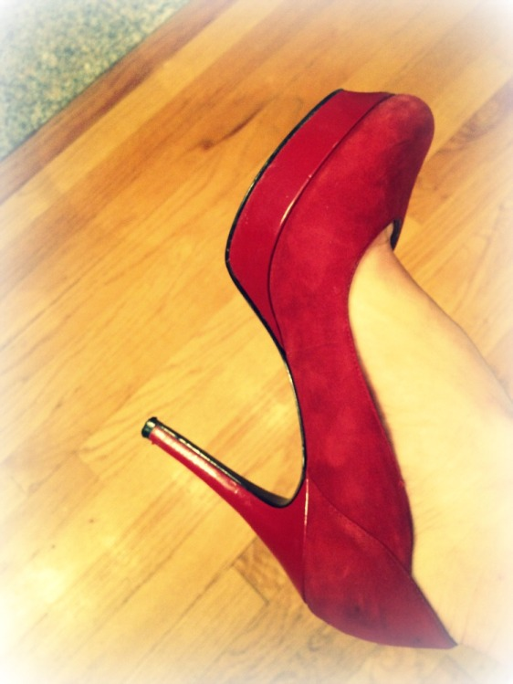 An excuse to wear red high heels?  Yes, please!