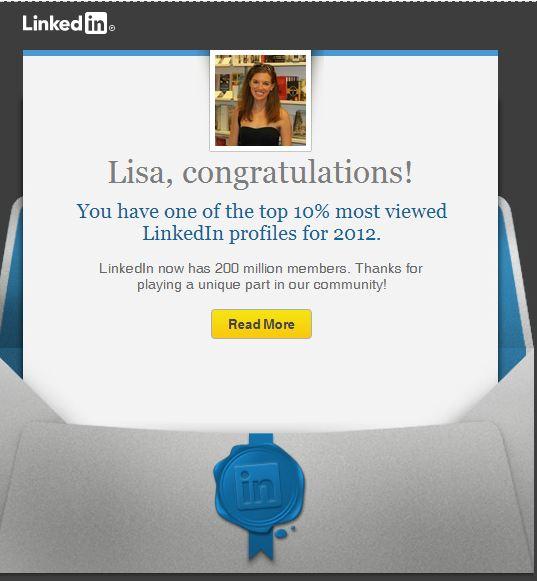 Ah, the recognition I've always dreamed of.